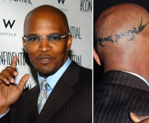 Jamie Foxx   s Extreme Hairline DifferenceCelebrity Hair Transplant Scar